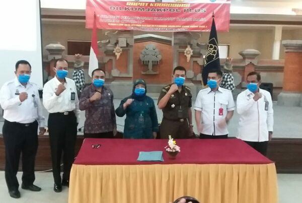 """Rapat & Koordinasi DILKUMJAKPOL PLUS dengan tema """"Strategi Penanganan Tahanan Dalam Masa Pandemi Covid-19"""""""
