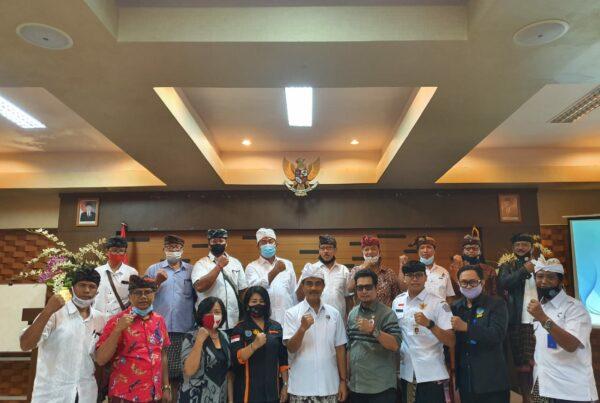 Rapat Koordinasi Dengan Majelis Desa Adat, Bendesa Agung, Bendesa Adat se-Denpasar dan juga Penggiat Anti Narkoba