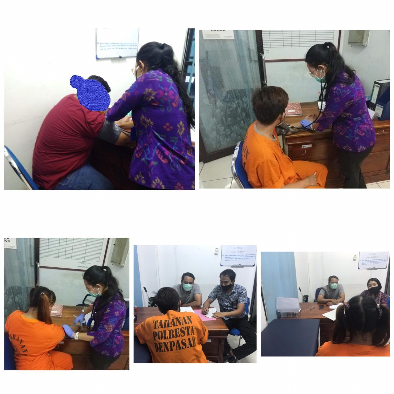Permohonan Asesmen Medis dari Polresta Denpasar