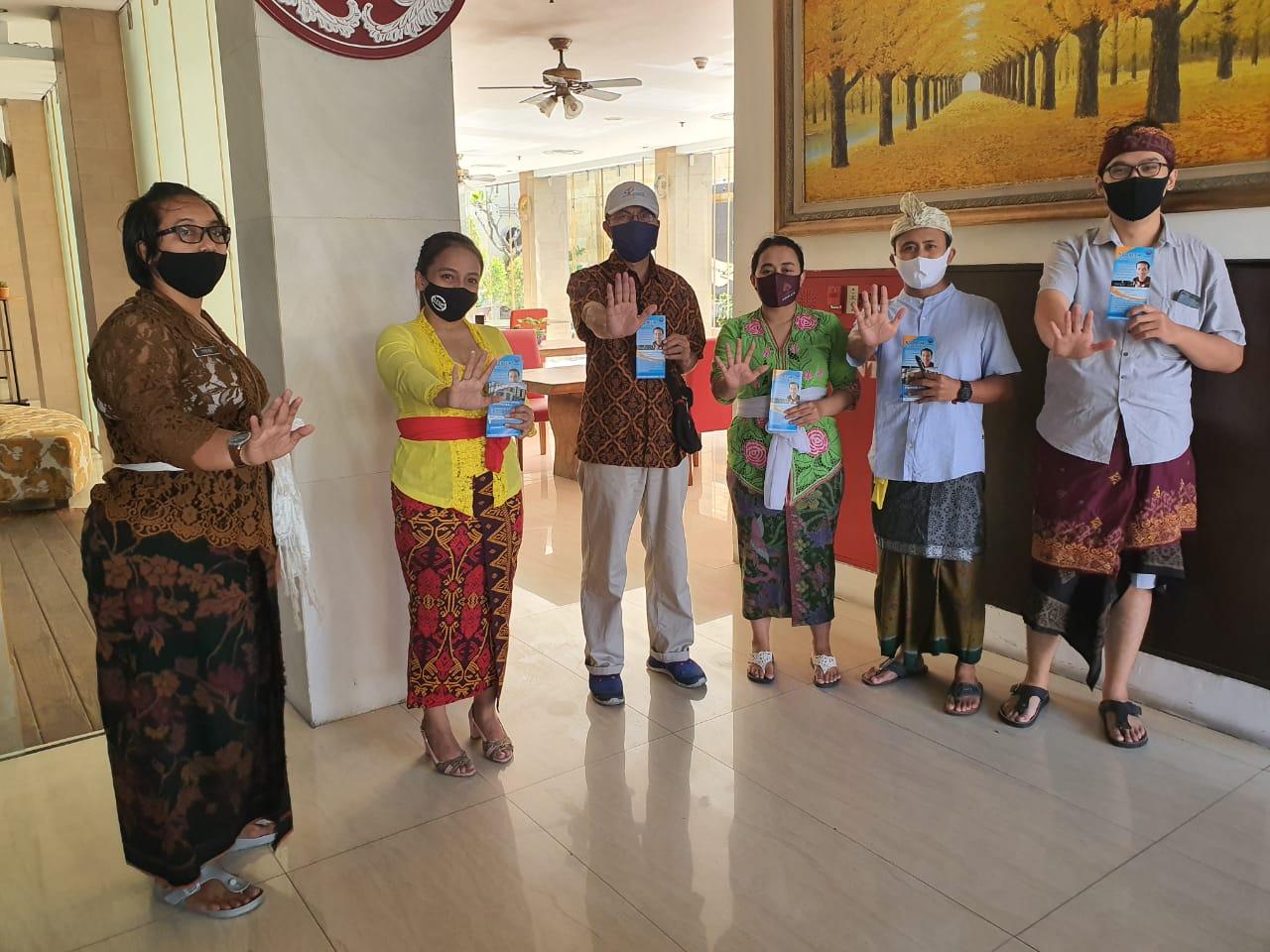 KIE P4GN kepada pegawai Atanaya Hotel Badung, Bali