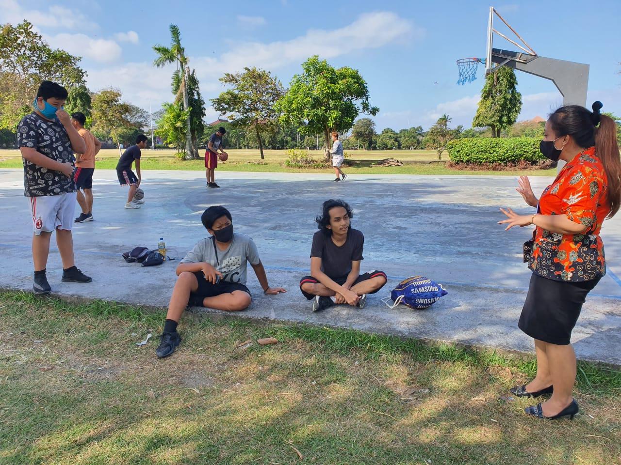 KIE P4GN kepada anak-anak muda Denpasar Bali