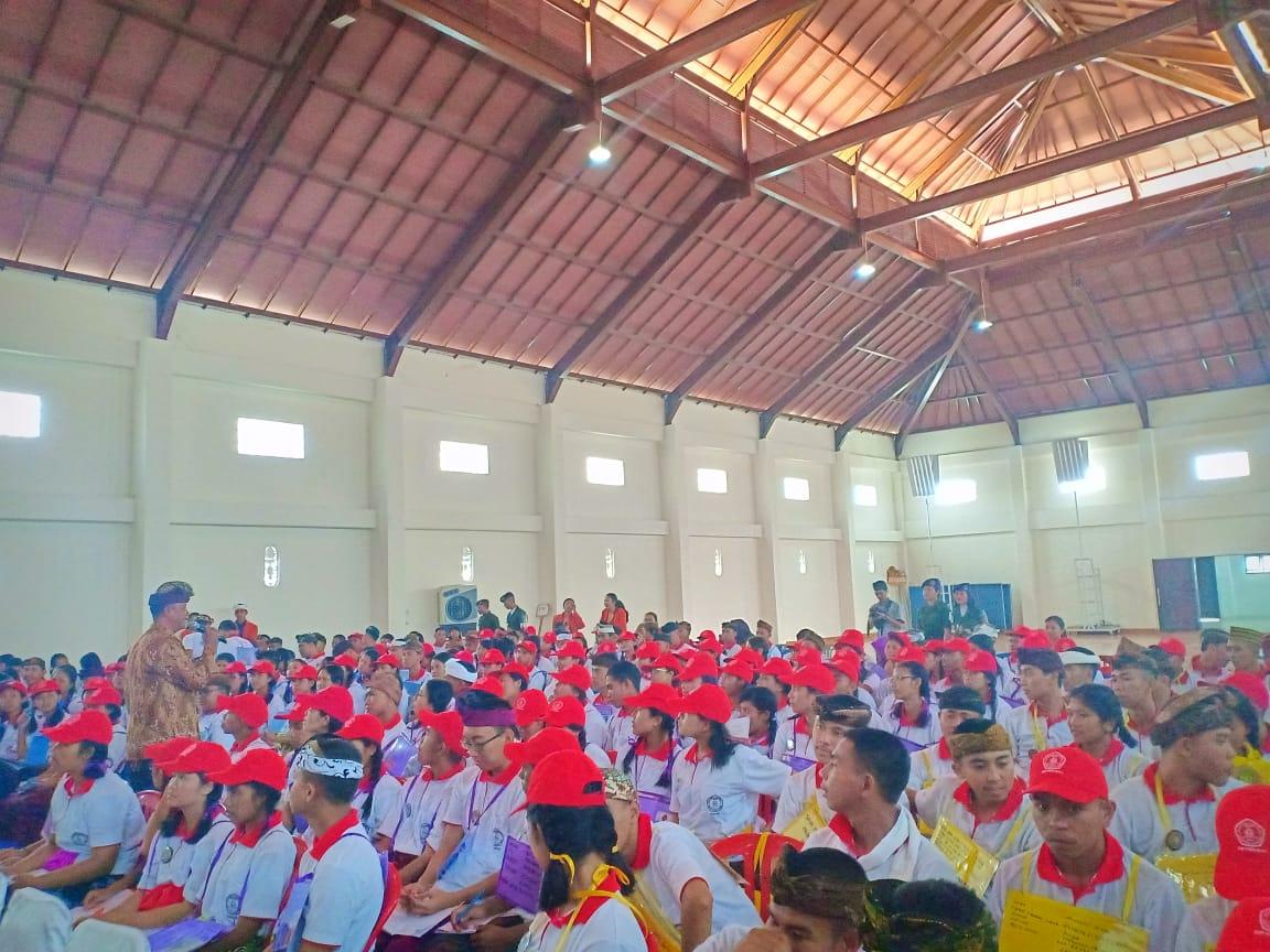 Sosialisasi Bahaya Penyalahgunaan Narkoba bagi Mahasiswa/i baru IKIP PGRI Bali TA 2019