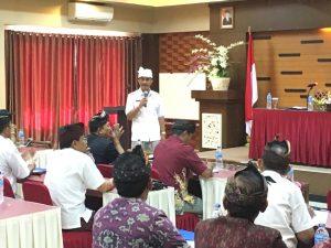 Rapat Koordinasi pemberdayaan masyarakat anti narkoba di lingkungan masyarakat