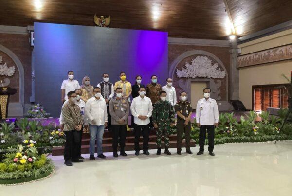 Kunjungan Wakil Ketua DPR RI/Korpolkam