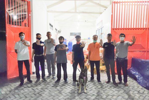 Pelacakan Narkotika di PT Pos Indonesia Regional 8 Bali
