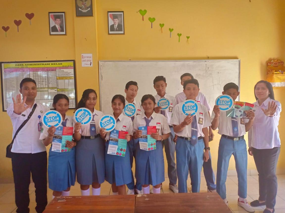 Sosialisasi P4GN dengan para pelajar