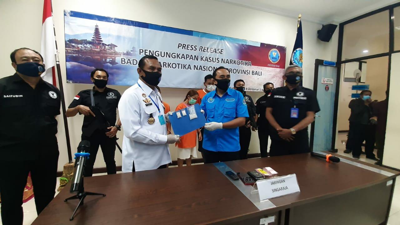 Press Release Pengungkapan Jaringan Peredaran Gelap Narkotika