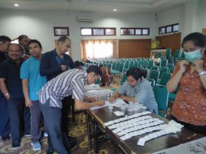 Test Urine Pada Institut Hindu Dharma Negeri (IHDN) Denpasar Bali