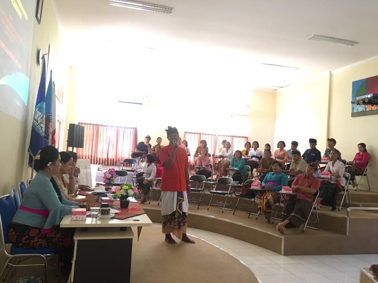 Sosialisasi P4GN pada siswa siswi SMA Negeri Bali Mandara