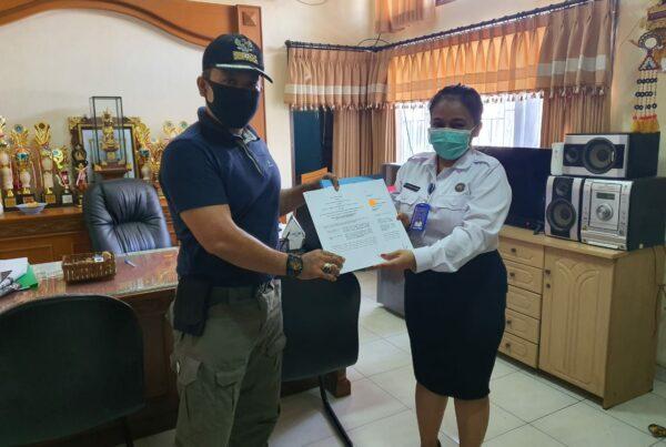 Penandatanganan MOU BNN Provinsi Bali dengan Kelurahan Seminyak terkait Pelatihan Lifeskill pada Kawasan Rawan Narkoba tahun 2021