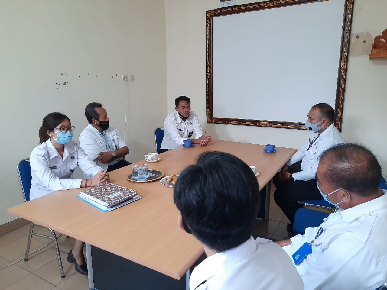 Monitoring dan Evaluasi Pelaksanaan Kegiatan Bidang Rehabilitasi di BNN Kabupaten Klungkung