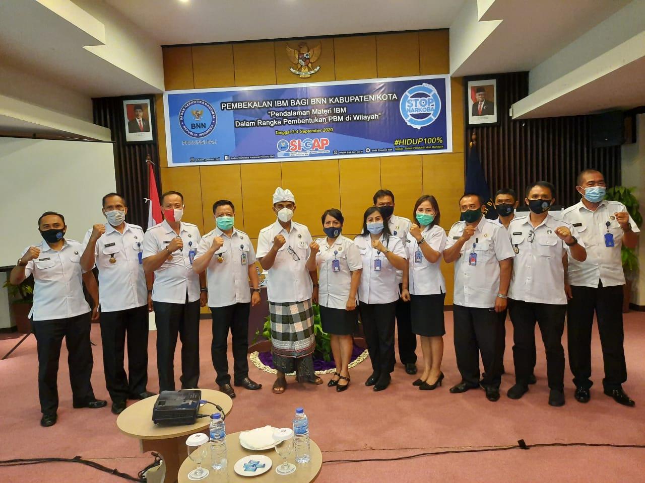 Pembukaan Pembekalan IBM Bagi BNN Kabupaten/ Kota