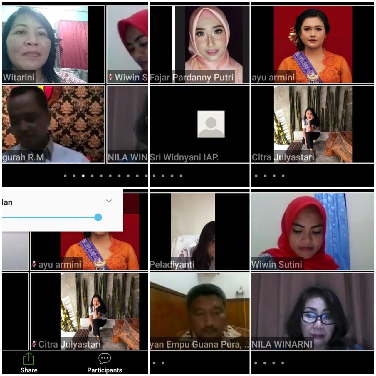 Diseminasi informasi melalui NGOVI (Ngobrol Virtual)
