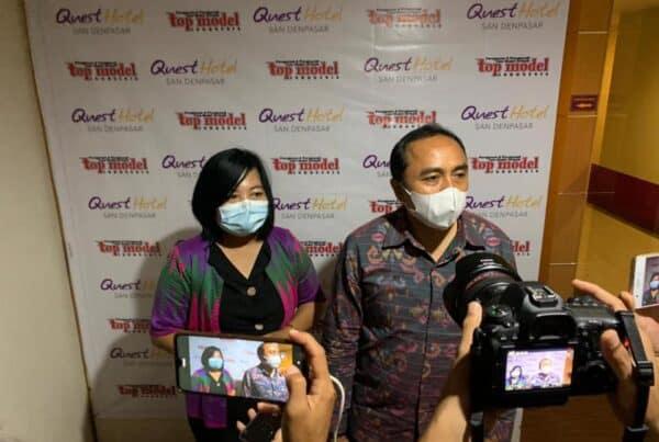 Pemilihan Top Model Indonesia, sebagai Mode Indonesia provinsi Bali tahun 2020, dengan misi kepedulian terhadap narkoba yang sebelumnya mengundang narasumber dari BNNP Bali