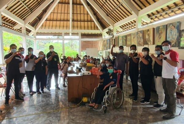 Sosialisasi P4GN dan Bakti Sosial dalam rangka BNN Provinsi Bali bersinergi dengan Penggiat Anti Narkoba