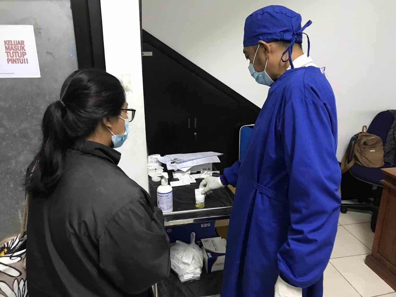 Permohonan Surat Keterangan Hasil Pemeriksaan Narkoba di BNNP Bali