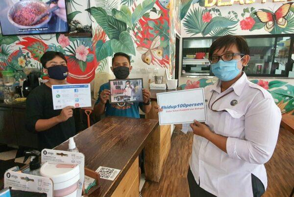 """KIE P4GN dan ajakan """"War On Drugs"""" kepada masyarakat Denpasar"""