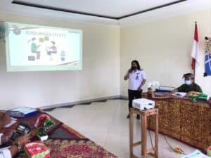 Pelatihan Petugas Intervensi Berbasis Masyarakat (IBM), Kabupaten Karangasem