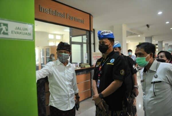 Peninjauan Balai Rehabilitasi di RS Jiwa Provinsi Bali