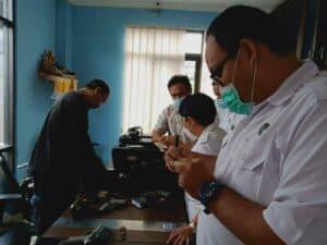 Monitoring dan Evaluasi Barang Milik Negara (BMN) di BNNK Jajaran.