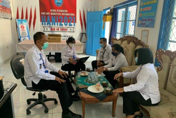 Pelaksanaan Kegiatan Olahraga, di Lingkungan BNN Provinsi Bali